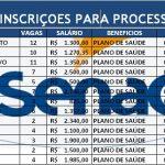 SENAC-PROCESSOS SELETIVOS EM ANDAMENTO / INSCRIÇÕES ABERTAS ATÉ DIA 23/08!