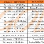 TRABALHE na Gol: Vagas abertas para o Nível Fundamental, Médio e Superior. Salário de até R$ 5.876,90.