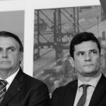 Desaprovação de Bolsonaro  vai á 54% e a provação de Moro vai a 57% de acordo com pesquisa do Atlas Político!