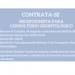 Contrato Recepcionistas para Trabalhar  em Clínica Odontológica