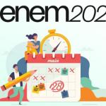 MEC aplicara prova do Enem 2021 entre o dia 21 e 28 de Novembro! Inscrições serão abertas entre 30 de junho e 14 de julho.